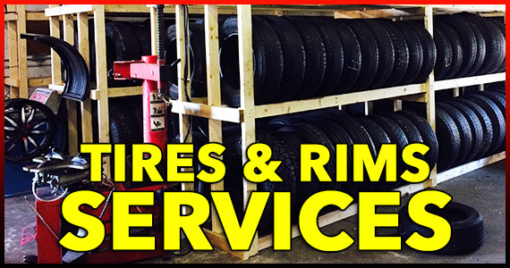 Tires and Rims Services