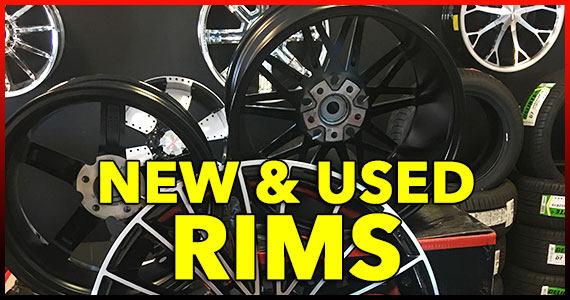 New and Used Rims